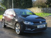 USED 2015 15 VOLKSWAGEN POLO 1.4 SEL TDI BLUEMOTION 5d 89 BHP ONLY £37 A WEEK / FULL VW SERVICE HISTORY