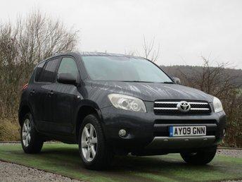2009 TOYOTA RAV4 2.0 VVTI XTR 5d AUTO 150 BHP £6490.00
