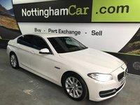 2015 BMW 5 SERIES 2.0 520D SE 4d AUTO 188 BHP £12495.00
