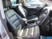 USED 2012 12 VOLKSWAGEN GOLF 2.0 GT TDI 5d 140 BHP black leather