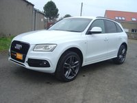 USED 2014 AUDI Q5 2.0 TDI QUATTRO S/LINE PLUS LIMITED EDITION. ////  1 FORMER OWNER    ////
