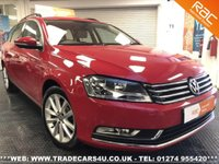 USED 2014 64 VOLKSWAGEN PASSAT 2.0 TDI BLUEMOTION TECH ESTATE EXECUTIVE DIESEL 6 SPEED UK DELIVERY* RAC APPROVED* FINANCE ARRANGED* PART EX