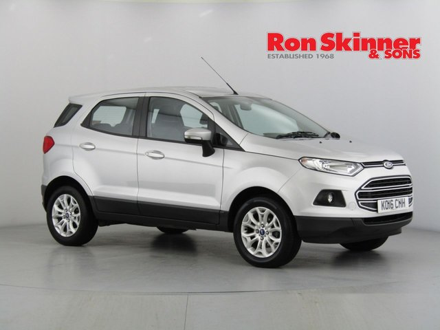 View our 2016 16 FORD ECOSPORT 1.0 ZETEC 5d 124 BHP