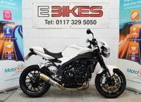 2009 TRIUMPH SPEED TRIPLE 1050 NAKED, STREETFIGHTER, 1050CC, EXC CONDITION £4995.00
