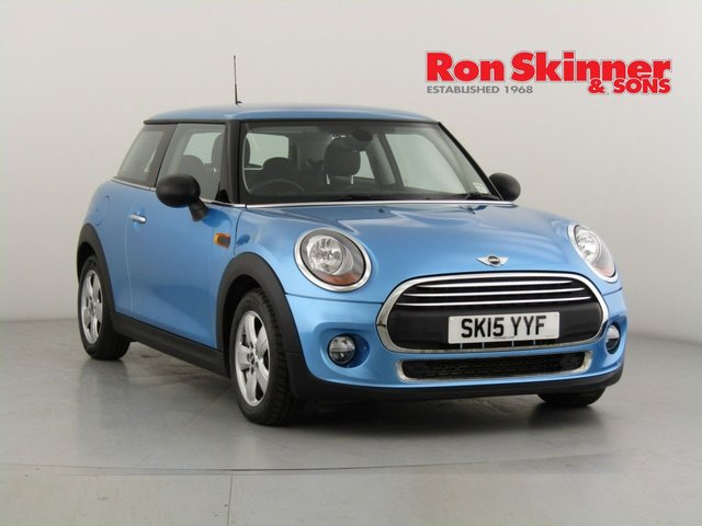 View our 2015 15 MINI HATCH ONE 1.2 ONE 3d 101 BHP with Pepper Pack