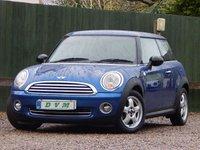 2008 MINI HATCH ONE 1.4 ONE 3d 94 BHP £4270.00