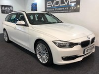 USED 2013 13 BMW 3 SERIES 2.0 320D LUXURY TOURING 5d 181 BHP IMMACULATE, FULL BMW SERVICE HISTORY, SAT NAV!!!
