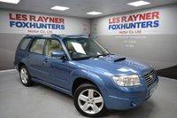 2007 SUBARU FORESTER 2.5 XTEN 5d AUTO 230 BHP £6499.00