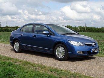 2008 HONDA CIVIC 1.3 IMA ES 4dr Hybrid Automatic  £2995.00