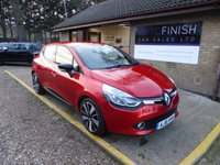 USED 2016 16 RENAULT CLIO 1.5 DYNAMIQUE S NAV DCI 5d 89 BHP * 1 PRIVATE KEEPER * SAT-NAV * ZERO TAX * FULL SERVICE HISTORY * 2 KEYS *
