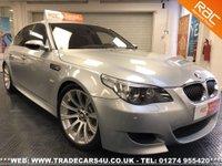 USED 2006 06 BMW M5 5.0 V10 LEFT HAND DRIVE IN SILVERSTONE II UK DELIVERY* RAC APPROVED* FINANCE ARRANGED* PART EX