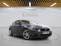 USED 2014 14 BMW 4 SERIES 2.0 420D XDRIVE M SPORT 2d AUTO 181 BHP +  SAT NAV + AIR CON + LEATHER SEATS + BLUETOOTH