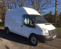 USED 2012 62 FORD TRANSIT T350 LONG WHEEL BASE, HIGH ROOF PANEL VAN (125 BHP) FWD