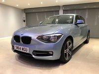 2015 BMW 1 SERIES 2.0 116D SPORT 5d 114 BHP £11450.00