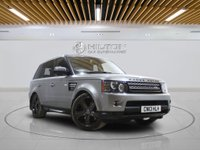 USED 2013 13 LAND ROVER RANGE ROVER SPORT 3.0 SDV6 HSE BLACK 5d AUTO 255 BHP Well-Maintained by Only 1 Previous Owner With Full Service History - 0% DEPOSIT FINANCE AVAILABLE
