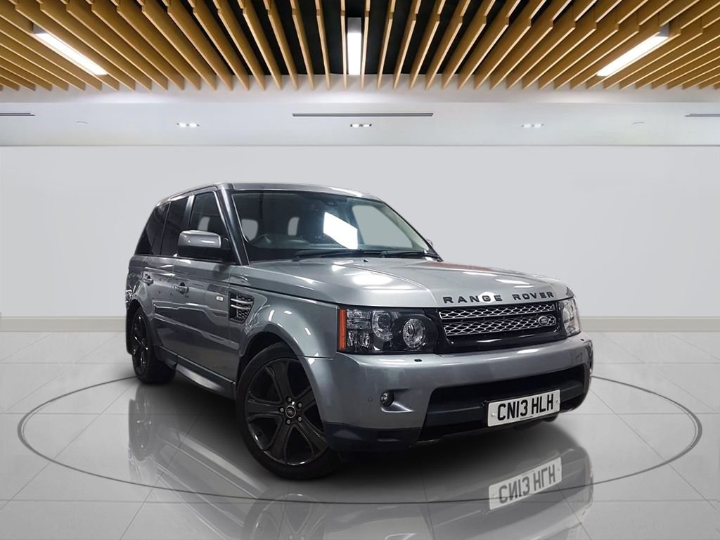"""USED 2013 13 LAND ROVER RANGE ROVER SPORT 3.0 SDV6 HSE BLACK EDITION 5d AUTO 255 BHP  Navigation System, Leather Heated Seats, 20"""" Stormer Alloys, Parking Sensor(s), Privacy Glass, Climate Control"""