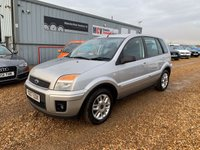 USED 2007 07 FORD FUSION 1.4 ZETEC CLIMATE 5d 68 BHP