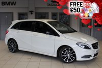 USED 2013 13 MERCEDES-BENZ B CLASS 1.8 B200 CDI BLUEEFFICIENCY SPORT 5d AUTO 136 BHP FINISHED IN STUNNING CALCITE WHITE WITH FULL BLACK LEATHER SEATS + COMAND SATELLITE NAVIGATION + REVERSE CAMERA + BI-XENON HEADLIGHTS + £30 ROAD TAX + NIGHT PACKAGE + TINTED GLASS + CRUISE CONTROL....