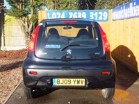 USED 2009 09 PEUGEOT 107 1.0 VERVE 3d 68 BHP ALLOY WHEELS, AIR CON, FSH