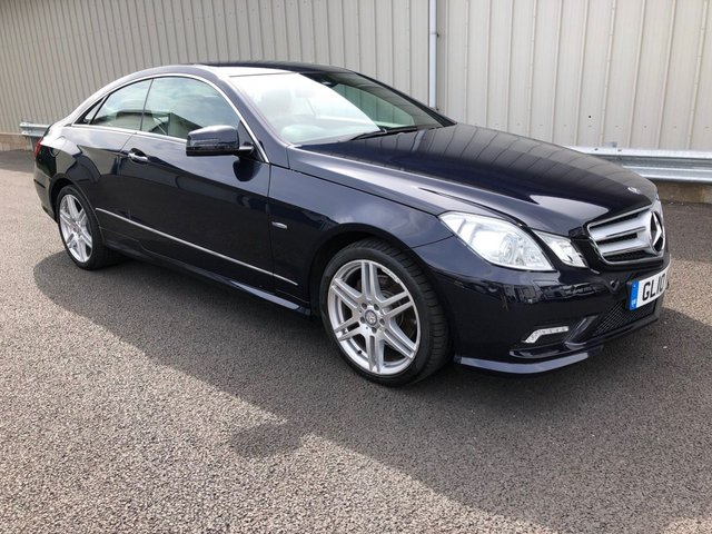 2010 MERCEDES-BENZ E CLASS 3.0 E350 CDI BLUEEFFICIENCY AMG SPORT AUTO 231 BHP