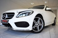 USED 2014 64 MERCEDES-BENZ C CLASS C220 2.1 BLUETEC AMG LINE PREMIUM PLUS AUTOMATIC