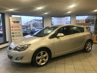 2012 VAUXHALL ASTRA Astra SRI 1.6 5Dr Hatch £4795.00