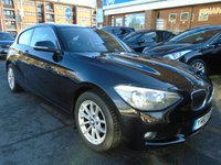 2013 BMW 1 SERIES 1.6 116D EFFICIENTDYNAMICS 3d 114 BHP £7849.00