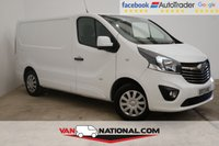 USED 2017 17 VAUXHALL VIVARO 1.6 L1 H1 2700 SPORTIVE CDTI 120 BHP * AIR CONDITIONING * DAB * READY TO DRIVE AWAY TODAY *