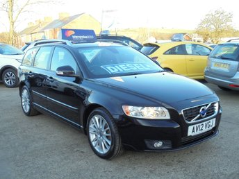 2012 VOLVO V50 1.6 DRIVE SE LUX EDITION S/S 5d 113 BHP *FULL LEATHER* SAT NAV* PARKING AID* EXCELLENT* £4950.00