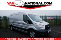 USED 2016 16 FORD TRANSIT 2.2 310 ECONETIC 125 BHP LWB (AIR CONDITIONING) SILVER * AIR CON * LWB *