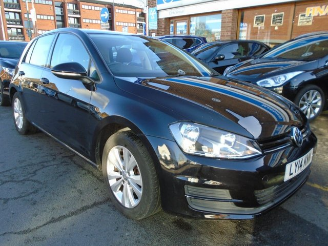 2014 14 VOLKSWAGEN GOLF 1.4 SE TSI BLUEMOTION TECHNOLOGY DSG 5d AUTO 120 BHP