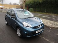 USED 2015 15 NISSAN MICRA 1.2 VISIA 5d 79 BHP WAS £6,495 NOW ONLY £5,995 !!