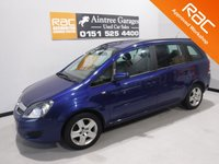 USED 2009 09 VAUXHALL ZAFIRA 1.6 EXCLUSIV 5d 105 BHP GREAT FAMILY CAR WITH  NICE SPEC, FINISHED IN GLEAMING METALIC GRAY,  ONE OWNER WITH SERVICE  HISTORY, THIS CAR HAS BEEN VERY WELL LOOKED AFTER, COMES WITH CRUSE CONTROL  LEATHER CLAD MUTI FUNCTION STEERING WHEEL, PARKING SENSORS FRONT AND REAR, CLIMATE CONTROL, PRIVACY GLASS, 17INCH UPGRADED ALLOYS, DAB RADIO CD WITH AUX POINT.
