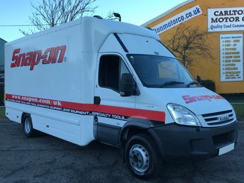 2009 IVECO DAILY 3.0 65C18 MOBILE SHOP DISPLAY EXHIBITION CAMPER LUTON BOX VAN 6.5Ton £9950.00