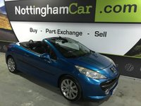 2007 PEUGEOT 207 1.6 GT COUPE CABRIOLET HDI 2d 108 BHP £1795.00