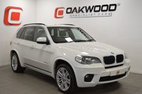 USED 2011 11 BMW X5 3.0 XDRIVE30D M SPORT 5d AUTO 241 BHP ONLY 49,000 MILES + SERVICE HISTORY + STUNNING IN WHITE + PART EX WELCOME