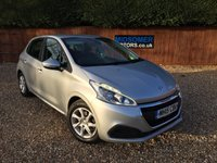 USED 2015 52 PEUGEOT 208 1.2 ACTIVE 5d 82 BHP