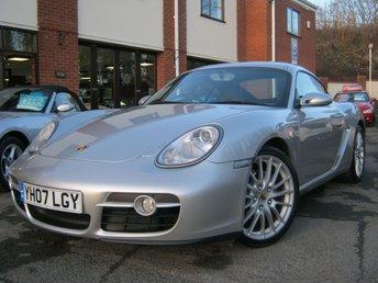 2007 PORSCHE CAYMAN 2.7 24V 2d 242 BHP £13495.00
