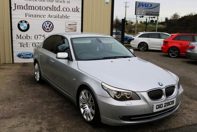 2008 BMW 5 SERIES 3.0 530D SE 4d AUTO 232 BHP (finance & warranty)