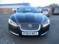 USED 2013 63 JAGUAR XF 2.2 D SE BUSINESS 4d AUTO 163 BHP