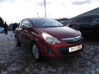 USED 2013 13 VAUXHALL CORSA 1.0 ENERGY ECOFLEX 3d 64 BHP 2 OWNERS, INSURANCE GROUP 2!