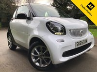 USED 2015 65 SMART FORTWO 1.0 PASSION 2d 71 BHP