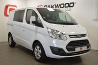 USED 2018 18 FORD TRANSIT CUSTOM 2.0 290 LIMITED LR DCIV P/V 1d AUTO 129 BHP AS NEW + AUTOMATIC + CRUISE CONTROL + AIR CON + 6 SEATS