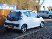 USED 2011 61 CITROEN C1 1.0 VTR 3d 68 BHP AIR CON, ALLOY WHEELS, FSH