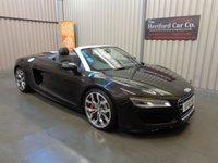2015 AUDI R8 5.2 SPYDER V10 QUATTRO 2d AUTO 518 BHP £74995.00