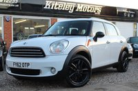 USED 2012 62 MINI COUNTRYMAN 1.6 ONE AUTOMATIC LEATHER & NAVIGATION
