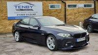2013 BMW 5 SERIES 2.0 520D M SPORT 4d AUTO 181 BHP £13484.00