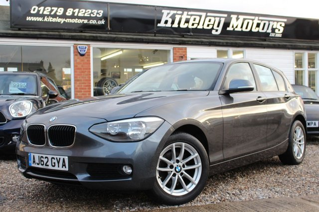 2012 62 BMW 1 SERIES 2.0 118D SE AUTO 141BHP FULL BLACK LEATHER