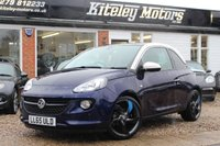 USED 2015 65 VAUXHALL ADAM 1.4 GLAM 100BHP LEATHER PANORAMIC ROOF NAVIGATION