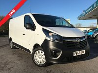USED 2015 65 VAUXHALL VIVARO 1.6 2900 L2H1 CDTI P/V 1d 115 BHP Long Wheel Base, One Owner, Rear Parking Censors.